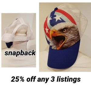 Other - Eagle trucker cap
